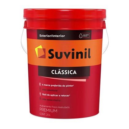 TINTA FOSCA CLÁSSICA BRANCO PREMIUM - 20L SUVINIL
