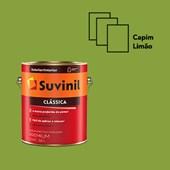 TINTA FOSCA CLÁSSICA CAPIM LIMÃO PREMIUM - 3,6L SUVINIL