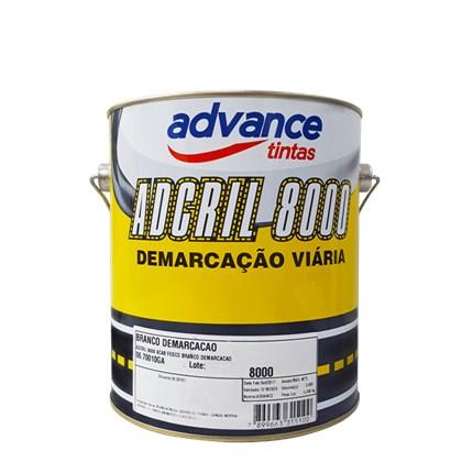 TINTA PARA DEMARCAÇÃO ADCRIL 8000 BRANCO - 3,6L ADVANCE