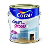 TINTA PARA GESSO DIRETO NO GESSO BRANCA - 3,6L CORAL