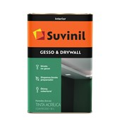 TINTA PARA GESSO E DRYWALL - 18L SUVINIL