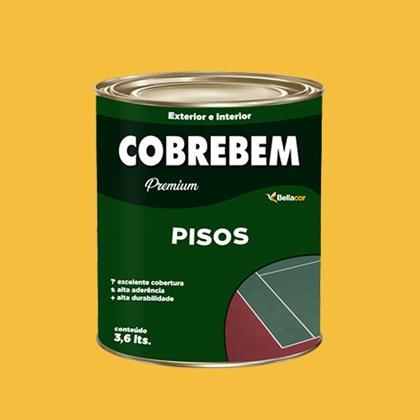 Tinta Para Piso Amarelo Demarcação 900ml - Bellacor