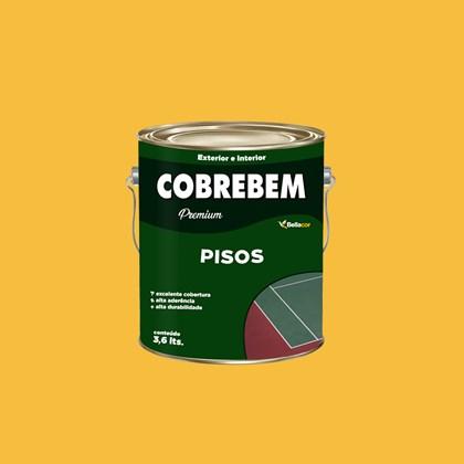 Tinta Piso Amarela Demarcação 3,6L - Bellacor