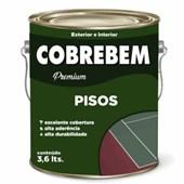 TINTA PISO COBREBEM BRANCO - 3,6L BELLA COR