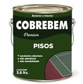 TINTA PISO COBREBEM MARROM - 3,6L BELLA COR