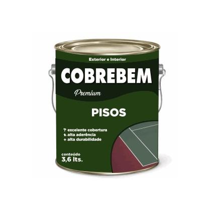 TINTA PISO COBREBEM MARROM (NOVO PADRÃO) - 3,6L BELLA COR