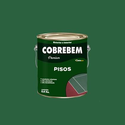 Tinta Piso Cobrebem Verde 3,6L Bellacor
