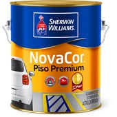 TINTA PISO NOVACOR CINZA - 900ML SHERWIN  WILLIAMS