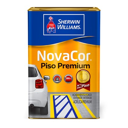 TINTA PISO NOVACOR VERDE- 18L SHERWIN WILLIAMS