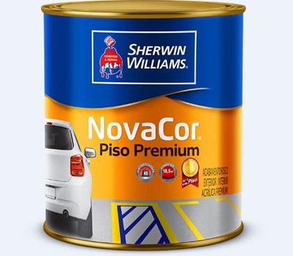 TINTA PISO NOVACOR VERMELHO - 900ML SHERWIN WILLIAMS