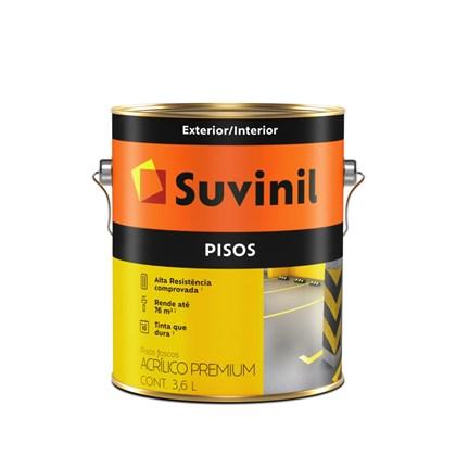 Tinta Piso Preto 3,6L Suvinil