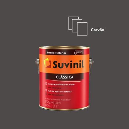 TINTA PREMIUM FOSCA CLÁSSICA CARVÃO - 3,2 SUVINIL