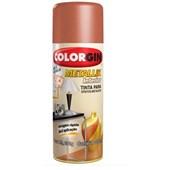 Tinta Spray Para Efeito Metálico -  Cobre - 350ML - Colorgin