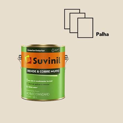 Tinta Suvinil Acrílica Fosca Rende e Cobre Muito Palha 3,6L