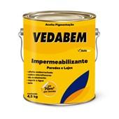 Vedabem Impermeabilizante P/ Paredes e Lajes Branco 3,6L - Bellacor
