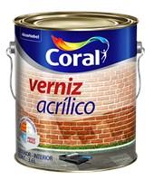 VERNIZ ACRÍLICO  INCOLOR- 3,6L CORAL