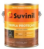VERNIZ BRILHANTE TRIPLA PROTEÇÃO SOLAR IMBUIA - 3,6L SUVINIL