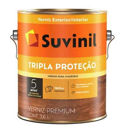VERNIZ BRILHANTE TRIPLA PROTEÇÃO SOLAR IMBUIA - 900ML SUVINIL