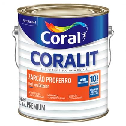 Zarcão Coralit 3,6L Coral